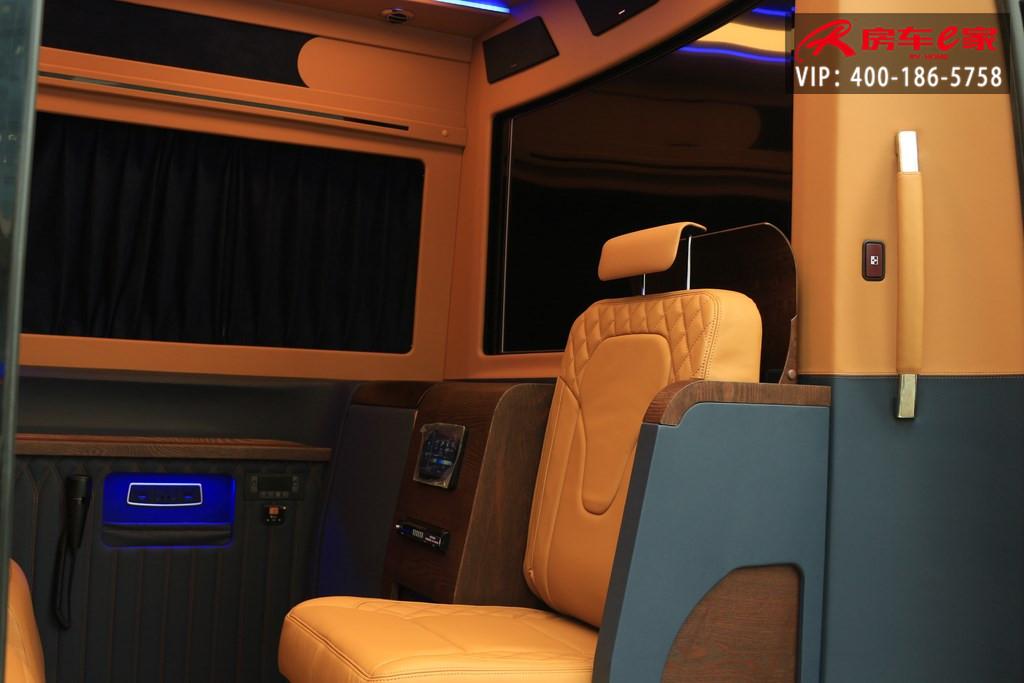 进口奔驰斯宾特7+2商务房车,房车e家咨询热线:15088779054